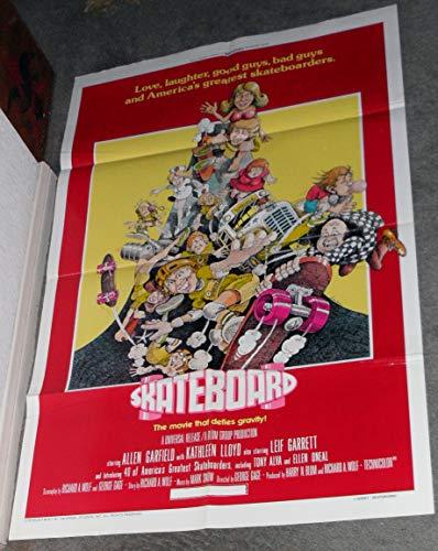 SKATEBOARD original 1978 27x41 one sheet movie poster LEIF GARRETT/TONY ALVA