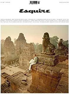 Esquire Magazine Issue :- April 2019 Cover :- Samuel L. Jackson + Magazine Cafe Bookmark