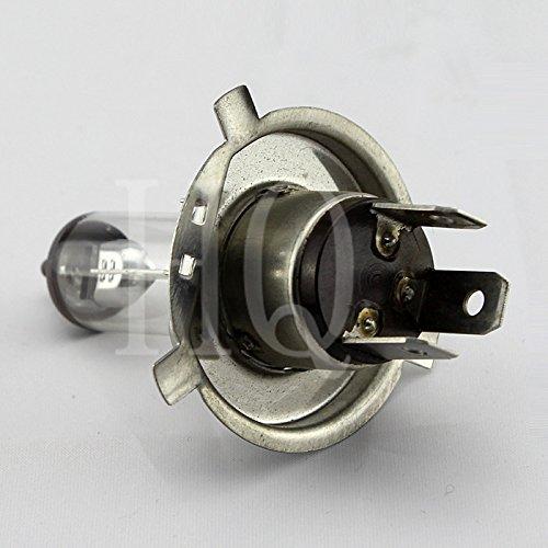 H4 12V35/35W P43T Head Light Bulb 3-Pin Halogen for Moped Scooter Motorcycle Car Bike ATV GO-KART