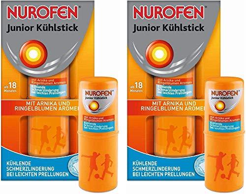 Sparset Nurofen Junior Kühlstick 2 x 14 ml Stift