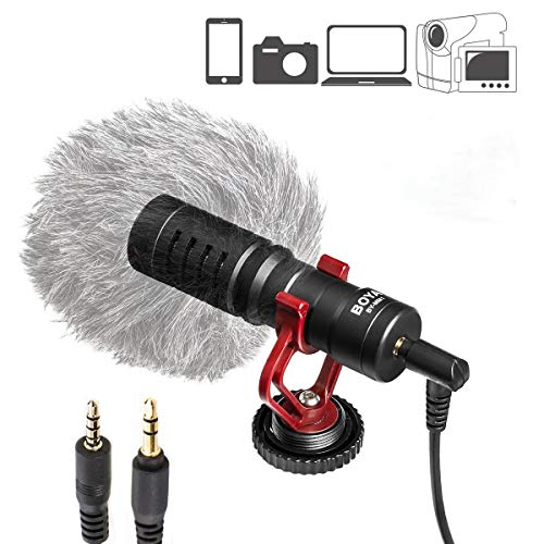 NA BOYA BY-MM1 Video Microphone Livestream Recording Microphone
