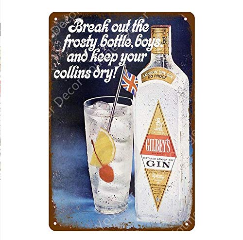 Shovv Metalen plaat Vintage Ice Cold Fosters Coors Bier Wall Plaque Home Bar Pub Club Decor beroemde Whisky Wall Iron Poster 20*30cm #020