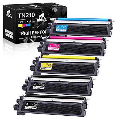 IKONG Compatible Toner Cartridge Replacement for TN210 TN-210 use with HL-3075CW HL-3070CW HL-3040CN HL-3045CN MFC-9325CW MFC-9320CW MFC-9120CN MFC-9125CN MFC-9010CN Printer