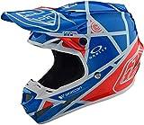 Troy Lee Designs 105109304 - Casco de Moto Se4 Compuesto metálico de Fibras compuestas
