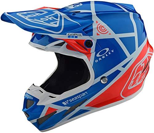 Troy Lee Designs 105109304 Se4 Casque de Moto Composite en Fibre Composite