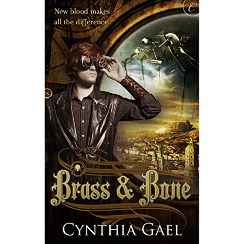 Brass and Bone audiobook cover art