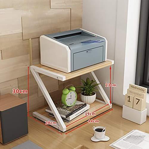 Desktop Multi-Purpose Storage Rack, Printer Rack Scanner Rack Telefoonhouder Office Huishoudelijke Opslag Rack Grootte : 44 * 28 * 30cm) A1