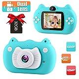 Best Digital Cameras For Children - GKTZ Kids Camera Digital Dual Lens Video Cameras Review