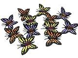 Mr_air_thai_Miniature Lot of 12 Miniature Butterfly Puddler Fairy Garden Supplies Animal Figurine Furniture Dollhouse GD#020