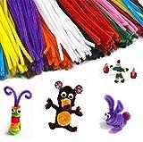 EMI Craft Pack Ahorro de limpiapipas de 30 cm en 10 Colores Variados para Manualidades Infantiles 120pcs