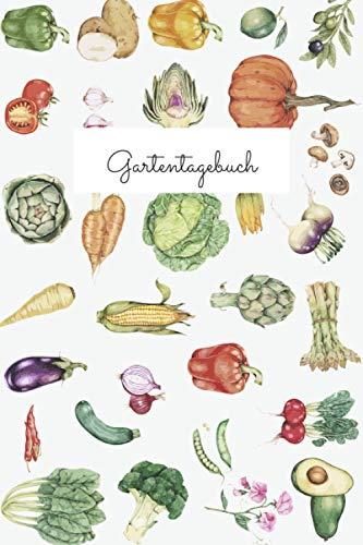 Gartentagebuch: Gartenplaner für Gemüse und Kräuter | 110 Seiten | Taschenbuch Format (ca. DIN A5)