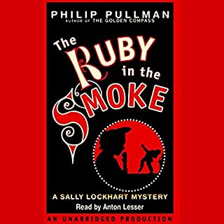 The Ruby in the Smoke audiobook cover art