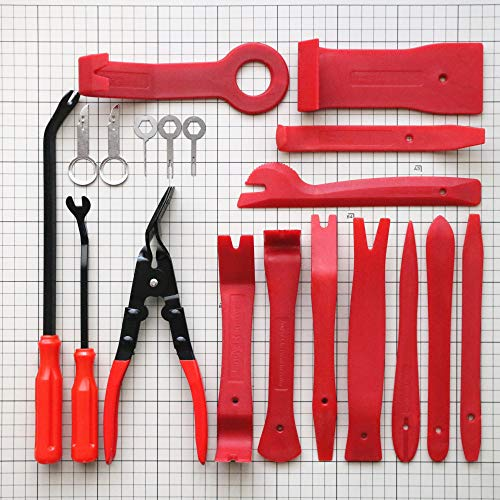 Kurala 19 PCS Auto Trim Removal Tool Set for Car