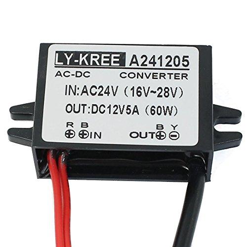 Aexit DC Netzteil und Zubehör 12 V Power Converter Regulator Waterproof Electronic Transformer Adapter für den internationalen DC Anschluss