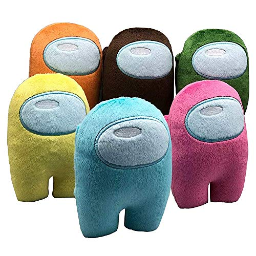 Lincang Among Us Plush Stuff Animal Plushies Toys Merch Crewmate Plushie Gifts for Game Fans