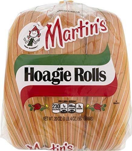 Martin's Hoagie Rolls- 6 pk 20oz (2 bags)