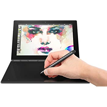 "2018 Lenovo Yoga Book 10.1"" FHD Touch IPS 2-in-1 Convertible Tablet PC, Intel Atom x5-Z8550 1.44GHz, 4GB RAM, 64GB SSD, Bluetooth, HD Graphics, Windows 10 Home- Carbon Black"