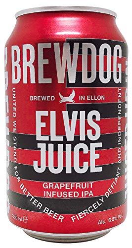 ブリュードッグ『エルビスジュース グレープフルーツIPA』