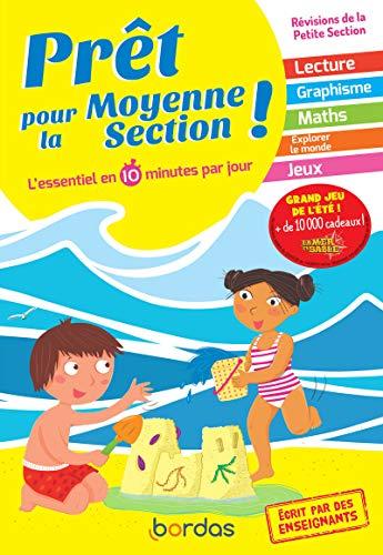 Prêt pour la MS – Cahier de vacances, révisions de la Petite Section (PS)