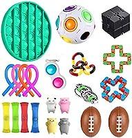 UALSD Fidget Set De Juguetes Sensoriales,22 Piezas Fidget Toys Juguetes para La Ansiedad Juguetes Los Dedos...