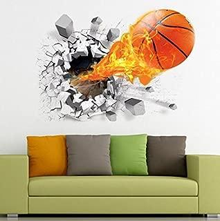 Generic 3D Basketball Wall Decal Sticker Home Decor Vinyl Art