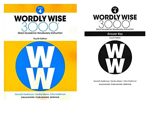 Wordly Wise 3000® 4th Edition Grade 4 SET -- Student Book and Answer Key (Direct Academic Vocabulary Instruction)