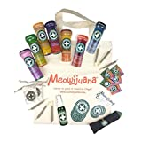 Meowijuana Catnip Collection, USA Grown, Feline Approved, Infused with Maximum Potency Your Kitty is Guaranteed to go Crazy for! Great Gift for Cat Lovers!