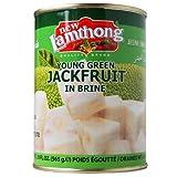 Young Green Jackfruit in Salmuera - 24 x 565 g