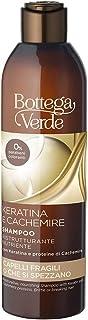 Bottega Verde, Keratina e Cachemire - Shampoo ristrutturante nutriente - con Keratina e proteine di Cachemire (250 ml) - c...