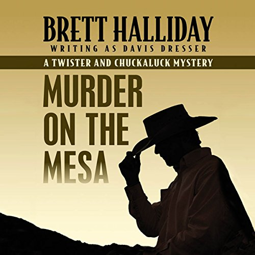 Murder on the Mesa audiobook cover art