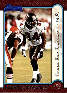 1999 Bowman #215 Darnell McDonald RC ROOKIE TAMPA BAY BUCCANEERS KANSAS STATE WILDCATS