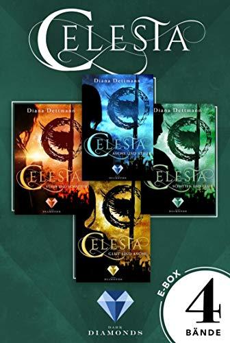 Celesta: Sammelband der epischen Fantasy-Serie »Celesta«: Überwältigender Fantasy-Liebesroman von Erfolgsautorin Diana Dettmann