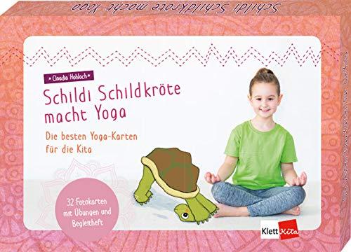 Schildi Schildkröte macht Yoga: Die besten Yoga-Karten für die Kita
