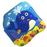 SM SunniMix 1 Stück Kinder Badebuch Babyspielzeug Aufblasbares & Wassergefülltes Bilderbuch, Mehrfarbig - Wal