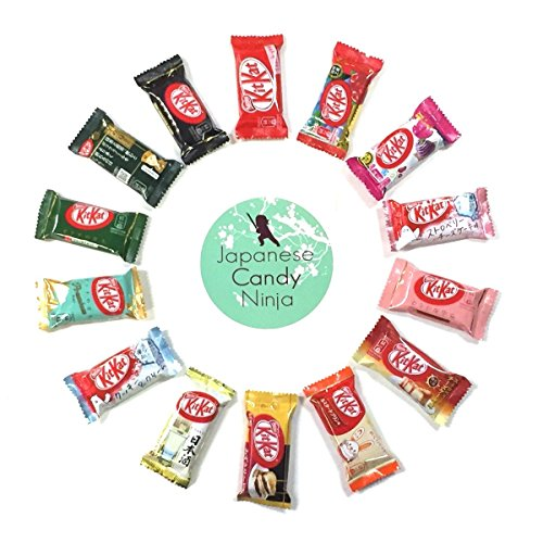 Japanese Candy Ninja KitKat 14pcs Assortment with original sticker