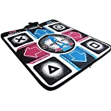 YonganUK Rutschfeste Tanz Matte PC USB Matte rutschfest Dancing Decke Gewicht Pads Decke Unterhaltung und Fitness Electronic Musical Spielkarten Matte - 94 x 82...