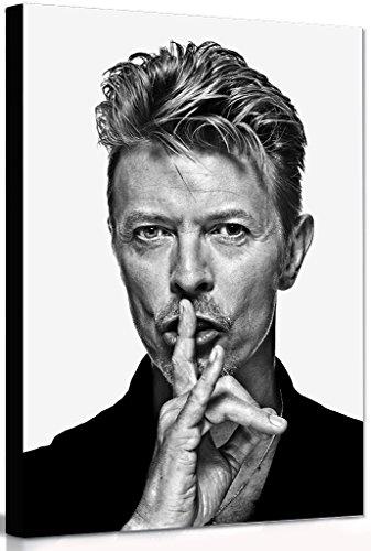 David Bowie - Shush - Canvas-Wandschmuck, eingerahmter Druck, diverse Größen, A0 47x33 inches