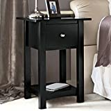Man Tables Home Defense Night Stand with Hidden Firearm Safe