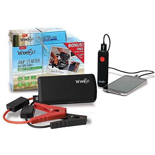 Buy Weego Heavy Duty Jump Starter Battery with Bonus Battery Pack