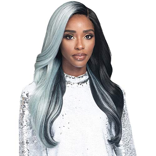 """Bobbi Boss Synthetic Hair Lace Front Wig MLF386 Swiss Lace 5"""" Deep Part Ophelia (TTS1B/PTBL)"""
