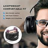 Ear Muffs Headband Mpow Sicherheit Ohrenschützer SNR 34 dB Gehörschutz - 3