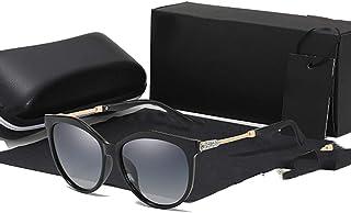 WEIJIANGBEI النظارات الشمسية المستقطبة للسيدات جولة السيدات نظارات السيدات النظارات الشمسية