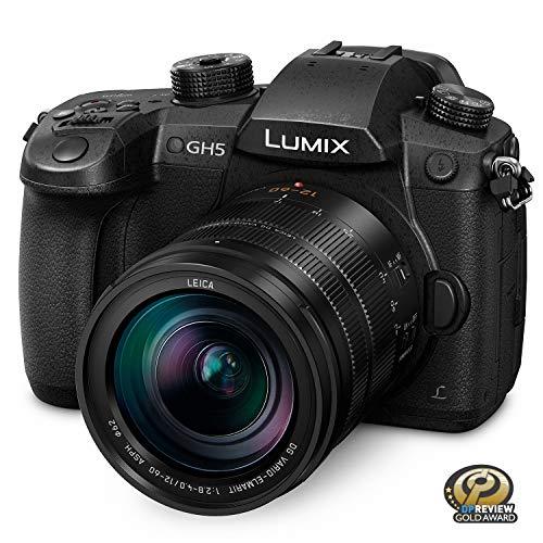 Panasonic LUMIX GH5 4K Mirrorless Camera with Lecia Vario-Elmarit 12-60mm F2.8-4.0 Lens (DC-GH5LK)