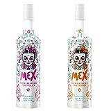 Pack 2 Botellas Mex Crema de Tequila, Mango, Fresa