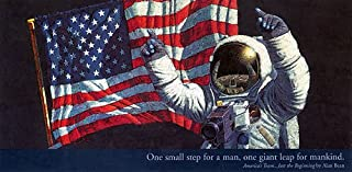 Alan Bean - Americas Team Just Beginning Hand Signed Open Edition on Paper