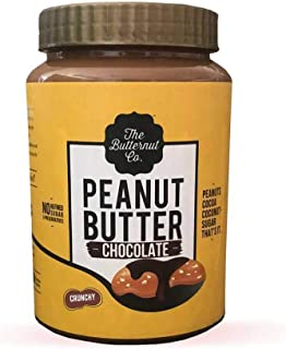 The Butternut Co. Peanut Butter Chocolate, Crunchy 925 gm (No Refined Sugar, High Protein, 100% Natural)