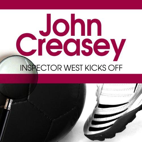 Inspector West Kicks Off audiobook cover art
