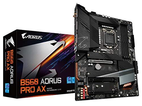 GIGABYTE B560 AORUS PRO AX (LGA 1200/ Intel/ B560/ ATX/Triple M.2/ PCIe 4.0/ USB 3.2 Gen2X2 Type-C/Intel WiFi 6/2.5GbE LAN/Motherboard)