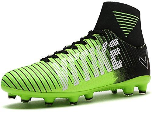 Littleplum Kids Soccer Cleats Boys Football Boots Cleats...