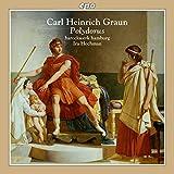 Carl Heinrich Graun : Polydorus, opéra. Zumsande, Karnite, Harari, Ludwig, Hochman.